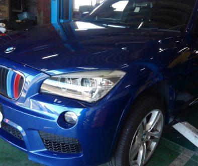 BMW X1 リア ブレーキパット交換依頼